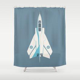 Tornado Swing Wing Jet - Slate Shower Curtain
