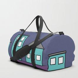 Dark Sky - Row of Houses Duffle Bag
