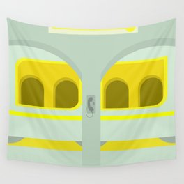 Yellow From The Other Side II Wall Tapestry