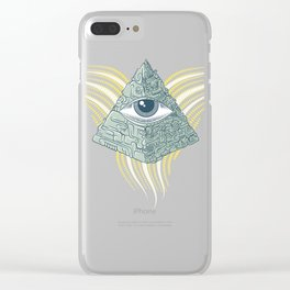 Spiritual resolution Clear iPhone Case