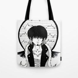 OSMAR Black and white alternative Cthulhu Tote Bag