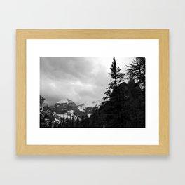 Farther Slopes: V Framed Art Print