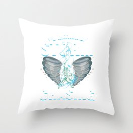 Storm Chaser Geographical Weather Condition Gift I'd Rather Be Storm Chasing Throw Pillow