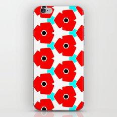 Herweije Retro Flower Pattern iPhone Skin