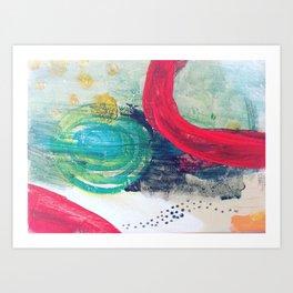Birthing women Art Print