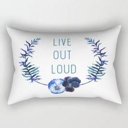 Live Out Loud Rectangular Pillow