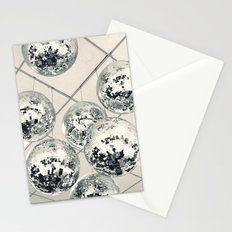 Disco Ball Stationery Cards