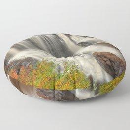 Blackwater Autumn Falls Floor Pillow
