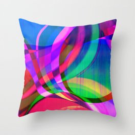 Weave in the Breeze Throw Pillow