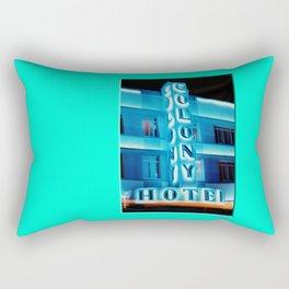 Americana - Ocean Drive - Miami Beach Rectangular Pillow
