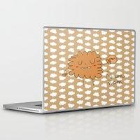 cookie Laptop & iPad Skins featuring Cookie by EnelBosqueEncantado