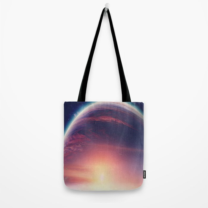Jupiterian sunset Tote Bag