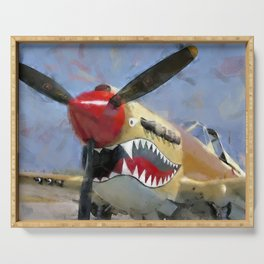 Curtis P-40 Serving Tray