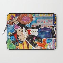 mr.monopoly,monopoly,street art Laptop Sleeve