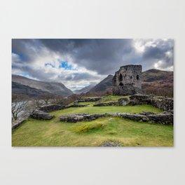 Dolbadarn Castle Snowdonia Canvas Print