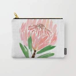 King Protea in Blush Pink Carry-All Pouch