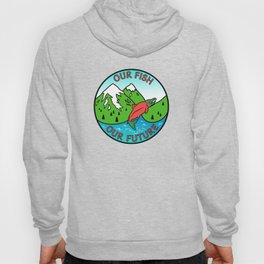 Stop Pebble Mine Hoody