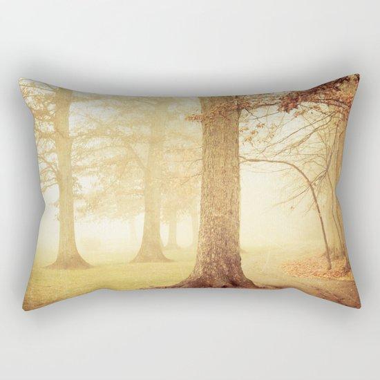 I Heard Whispering in the Woods Rectangular Pillow