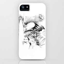 Martian Wintertime iPhone Case