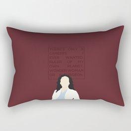 Greys Anatomy: Cristina Yang Rectangular Pillow
