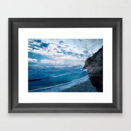 Coast 9 Framed Art Print