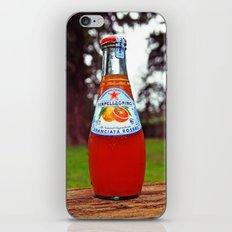 Delicious San Pellegrino iPhone & iPod Skin