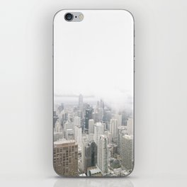 Cloudy Chicago iPhone Skin