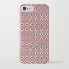 Coral, Red, and Turquoise Clovers Slim Case iPhone 7