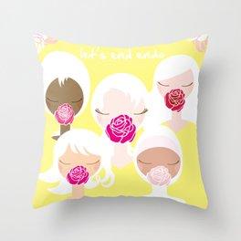 Let's End Endo - It's Okay to Talk Throw Pillow