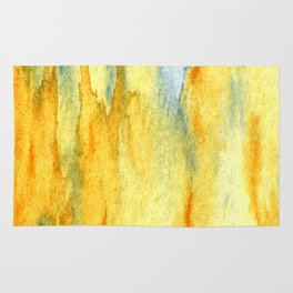 Earth toned abstract Rug