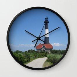 LightHouse Fire Island Wall Clock