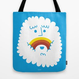 FRIENDLY CLOUDY Tote Bag