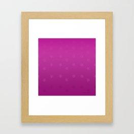 Sakura Falls Framed Art Print