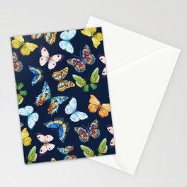 Butterfly Pattern 03 Stationery Cards