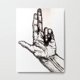 Shoot me Metal Print