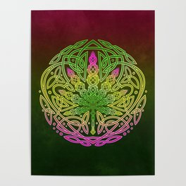 Celtic Cannabis Poster