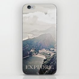 explore. iPhone Skin