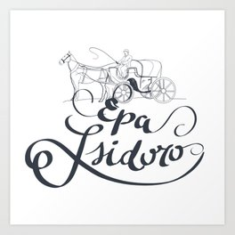 Isidoro Art Print