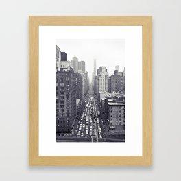 flying over first... Framed Art Print