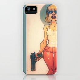 She's Packin' heat iPhone Case