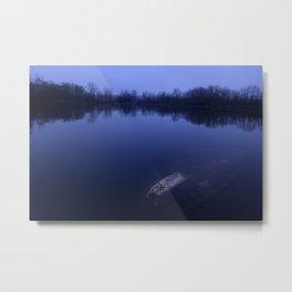 Sunset at the Lake Metal Print