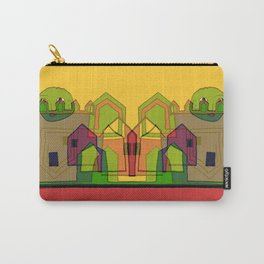 Two Suns Above the Village Carry-All Pouch