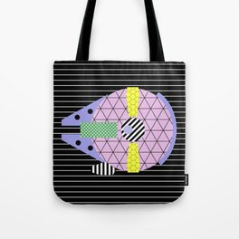 Millennium Falcon Geometric Style - Pastel, abstract design Tote Bag
