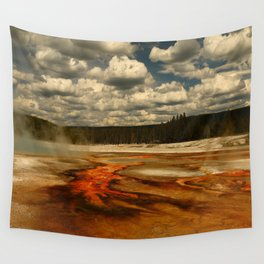 Hot And Colorful Thermal Area Wall Tapestry