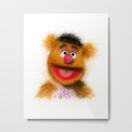 Fozzie, The Muppets Metal Print