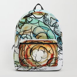 Life on the Earth  - The Ocean - Lighter version Backpack