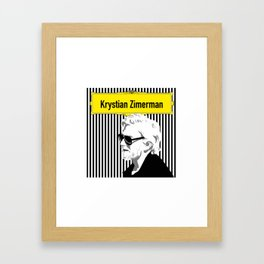 Krystian Zimerman Framed Art Print
