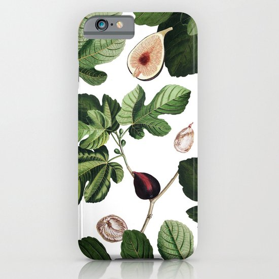Figs White iPhone & iPod Case