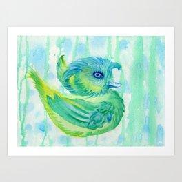 Rainduck Art Print