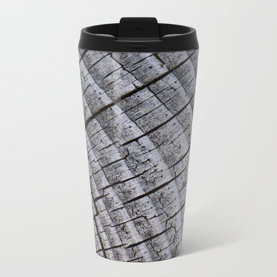 Touch Wood Metal Travel Mug